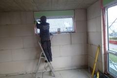 Einbau der Schüco Fenster