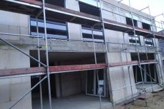 Schüco Anthrazit Fenster mit Unterlichtern
