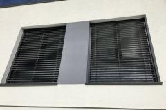 Schüco Fenster mit Jalousien