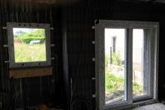 Eingebautes Schüco Fenster