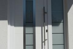 Eingebaute PVC Tür