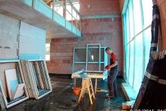 Vorbereitung des Fensters zur Montage