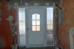 PVC Tür mit Einsatzfüllung