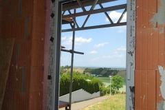 Schüco Fenster in Weiss mit Aluprof Rollladen