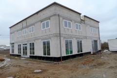 Neubau nach Fenstermontage