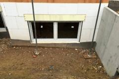 Schüco Fenster integriert mit Neubau-Rollladenkasten RG