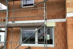 2-flügeliges Schüco Fenster mit integrierten Rollläden
