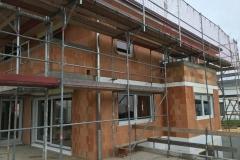 Baustelle nach einbau der Fenster