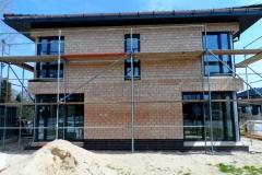 Neubau mit Montierten Schüco Fenstern
